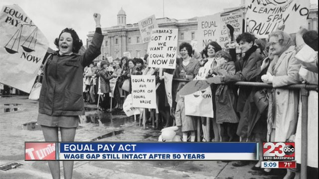 1963: Equal Pay Act of 1963