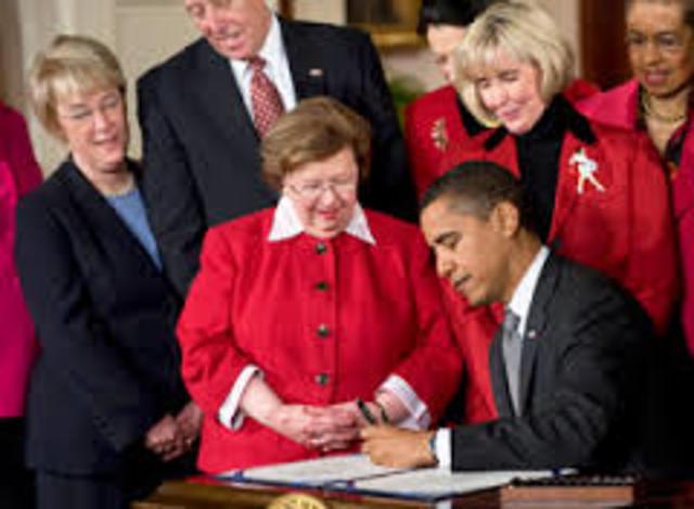 2009: Lilly Ledbetter Fair Pay Act