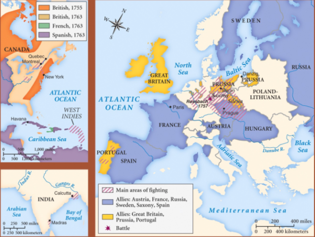 consequences of the seven years war