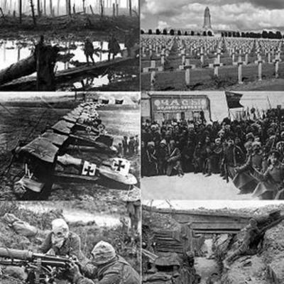 Sucesos de la primera guerra mundial timeline