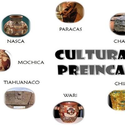culturas pre-incas timeline