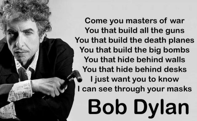 bob dylan cold war