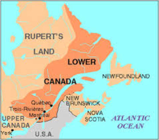The Rebellions Of Upper And Lower Canada