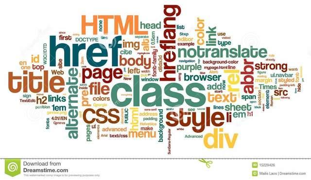 Organizacion de Grupos HTML