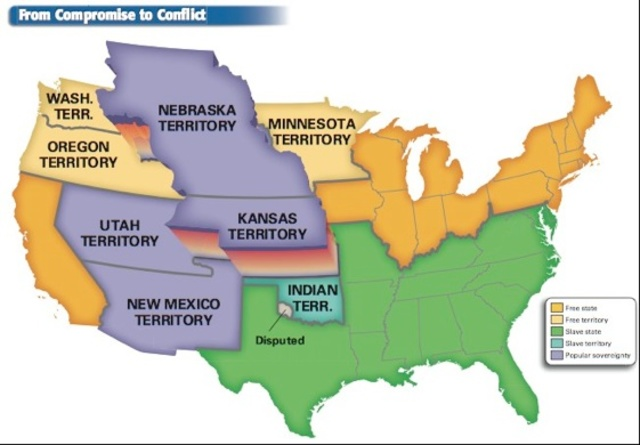 an interpretation of the kansas nebraska act in the us Kansas-nebraska act the kansas-nebraska act (1854) was a us law that authorized the creation of kansas and nebraska, west of the states of missouri and iowa and divided by the 40th parallel.