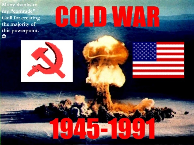 what year was the cold war over