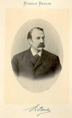 R. Berlin (de Stuttgart, Alemania, profesor, y doctor en Medicina)