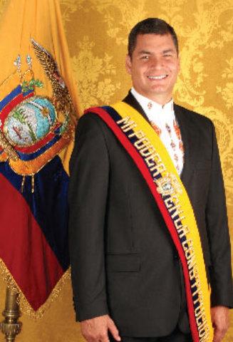 Eco. Rafael Correa Delgado