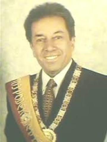 Interinazgo Del Dr. Fabian Alarcon Rivera