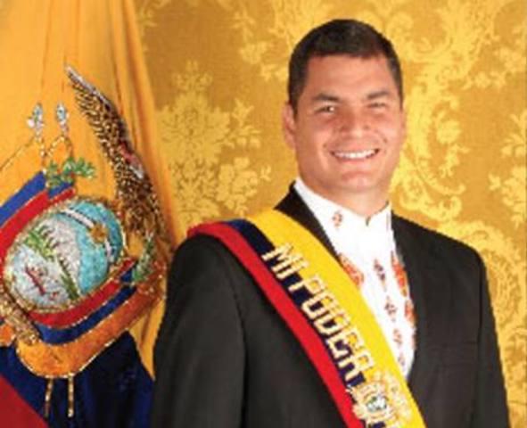 Ec. Rafael Correa Delgado