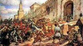 Крестьянские восстания, которые проходили в Московском государстве и Российской империи в течение 17-18 веков. timeline