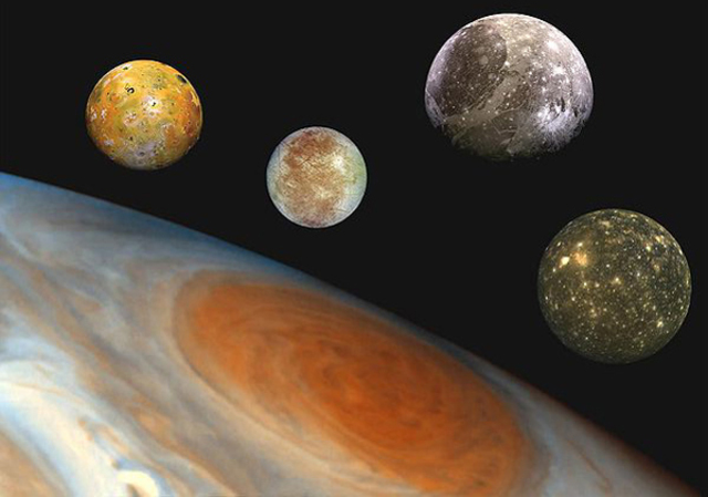 Discovered 4 moons around Juiter, further proving heliocentric theory