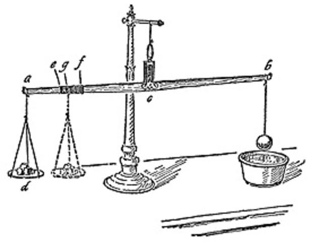 La Bilancetta and the hydrostatic balance