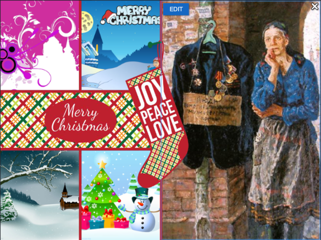 digital christmas cards exchange timeline