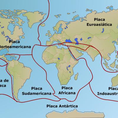 Teoría Placas Tectónicas timeline