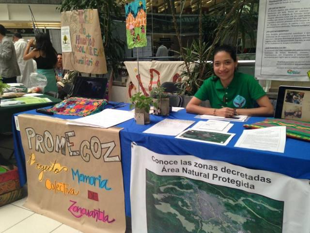 Participación en Expo-Sustenta 2015