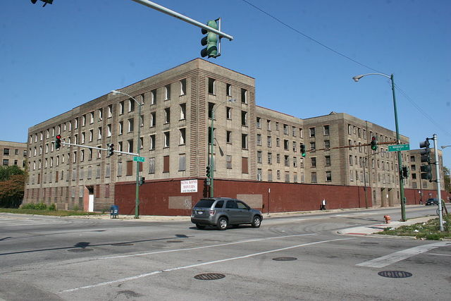 Rosenwald built the Michigan Boulevard Garden Appartments