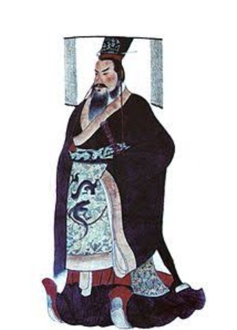 Emperor Qin Shi Huang came to the Throne