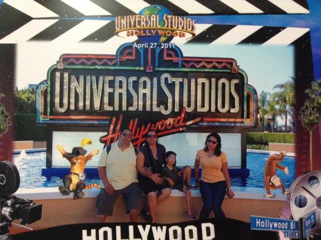 mi primera ves en Universal Estudios