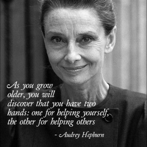 In Honor of Audrey Hepburn