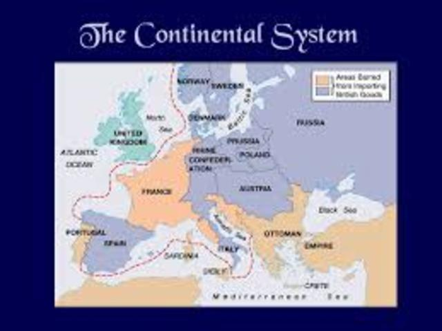Napoleons faults continental system and russian invasion