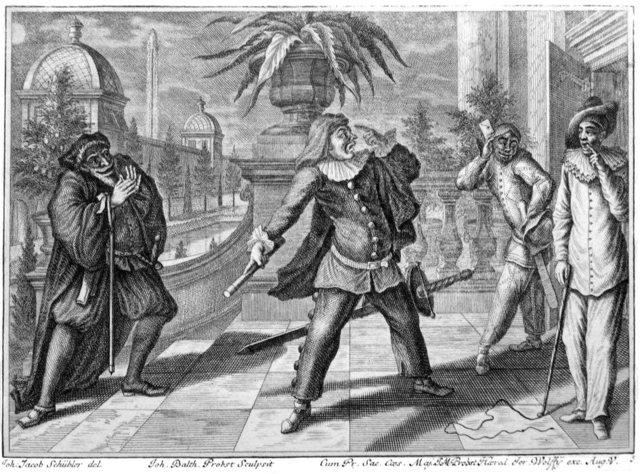 Труффальдино — персонаж итальянской комедии дель арте