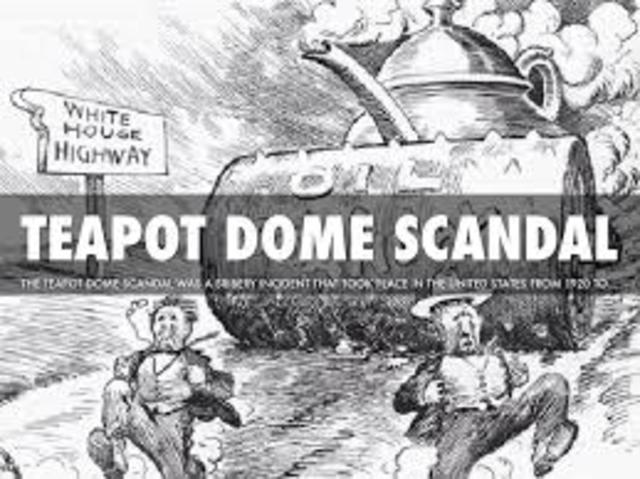 Cabinet member guilty in Teapot Dome scandal