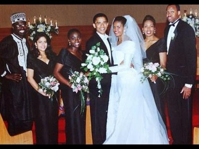 Michelle Obama Gets Married