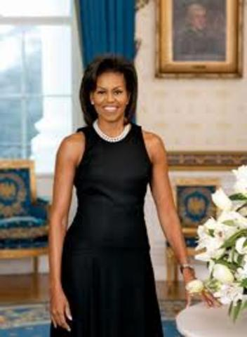 Michelle Obama Becomes First Lady