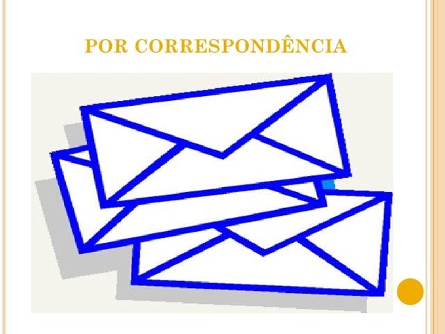 EAD NO BRASIL: CORRESPONDÊNCIA-1939
