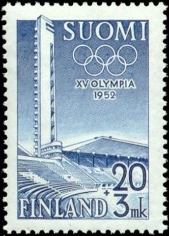 Juegos olímpicos en Helsinki (Finlandia).