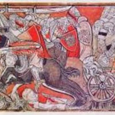 Il Medioevo e la Chanson de Roland timeline