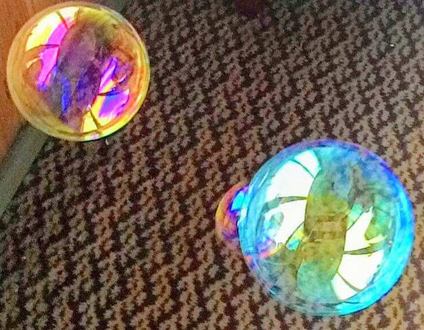 Отчет об использовании выигранного приза - набора мыльных пузырей