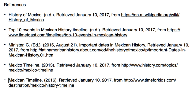 MX Timeline | Timetoast timelines