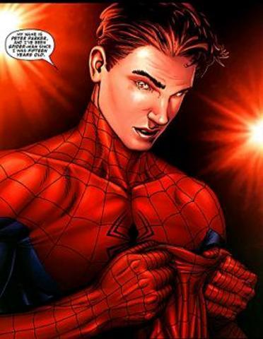 Spider-Man unmasks