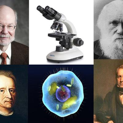 Personajes importantes de la Biología e Historia de la Célula y su Descubrimiento timeline