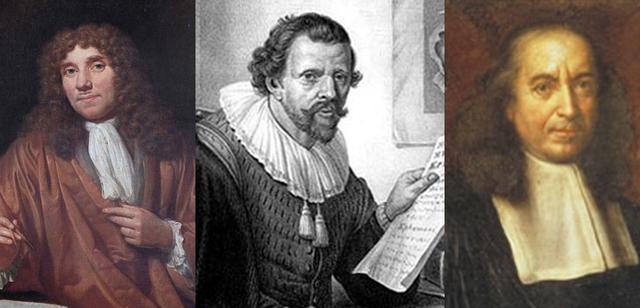 1696 Leeuwenhoek, Malpighi y Jan Swammerdan