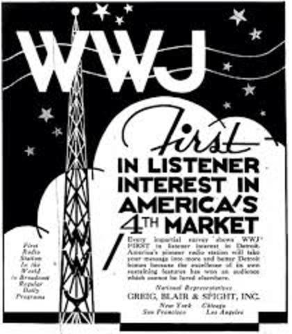 First Radio Program