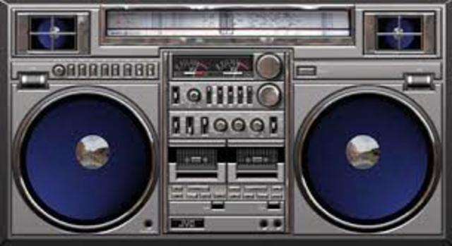 First Musical boom box