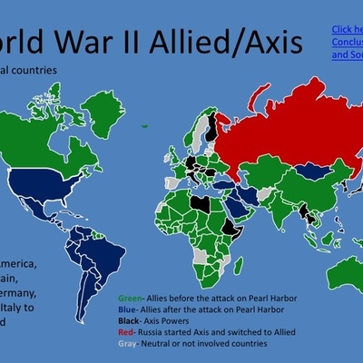 World War 2 Time and Events timeline
