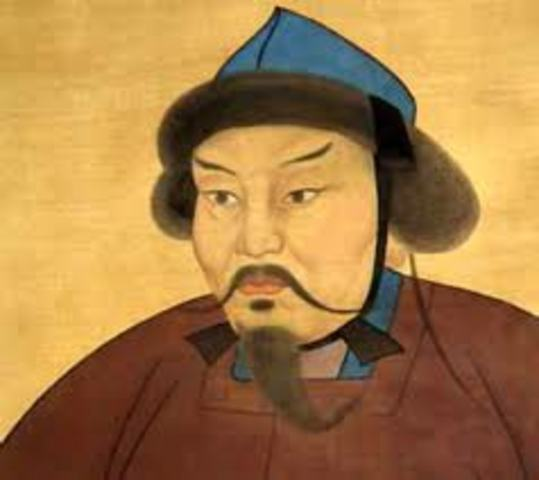 Kubla khan born september 23,1215