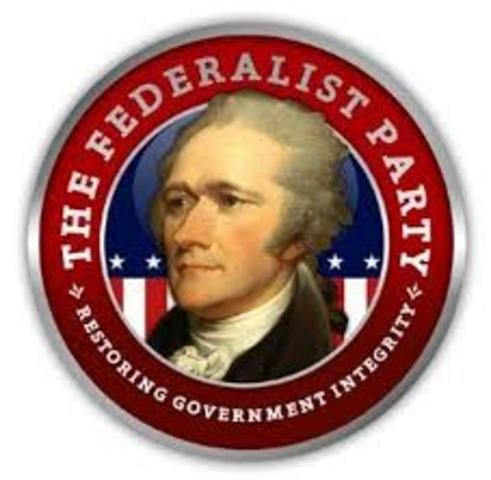 the federalist party in the united states of america The united states and the french revolution, 1789–1799  secretary of the treasury alexander hamilton led the federalist party,.