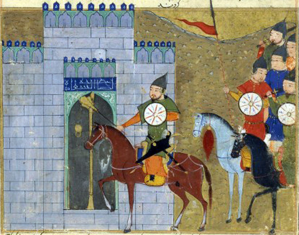 Mongke became the great Khan January 1,1251