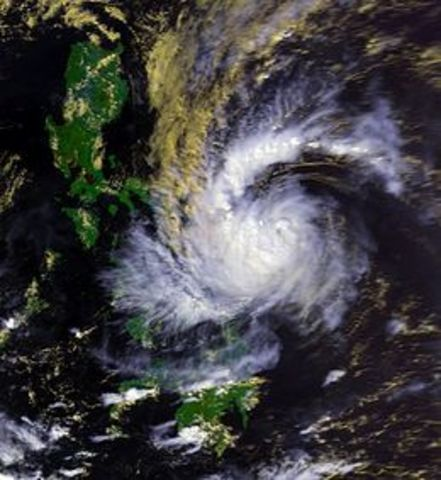 Typhoon Uring (Thelma)