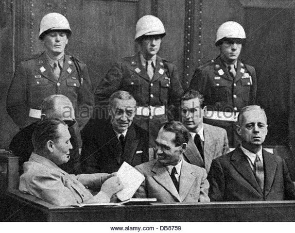 the beginning of the nuremberg trial of nazi war criminals The nuremberg trial and the tokyo war crimes trials (1945–1948) following world war ii, the victorious allied governments established the first international criminal tribunals to prosecute high-level political officials and military authorities for war crimes and other wartime atrocities.