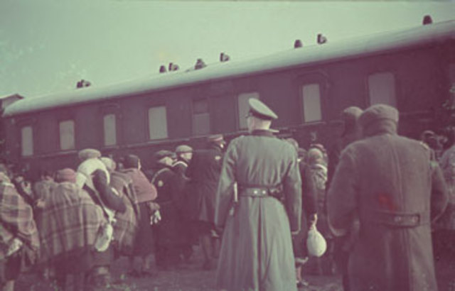 Deportations from Lodz to Chelmno