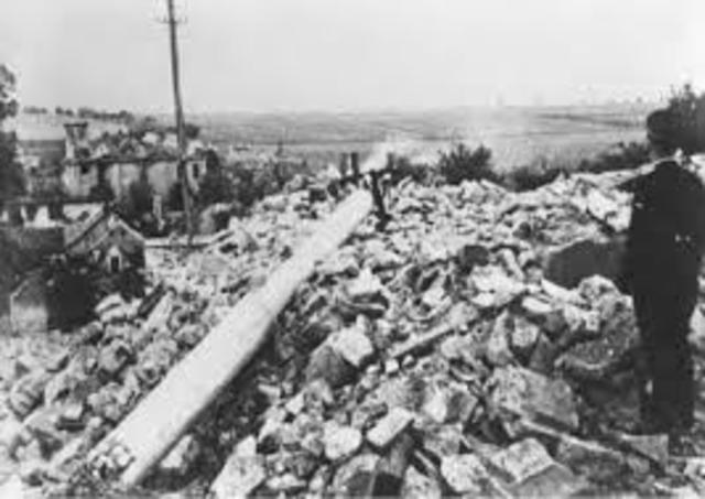 Germany Destroys Lidice
