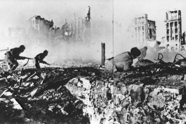 German Defeat at Stalingrad