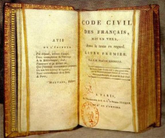 Código Penal y el Código Civil