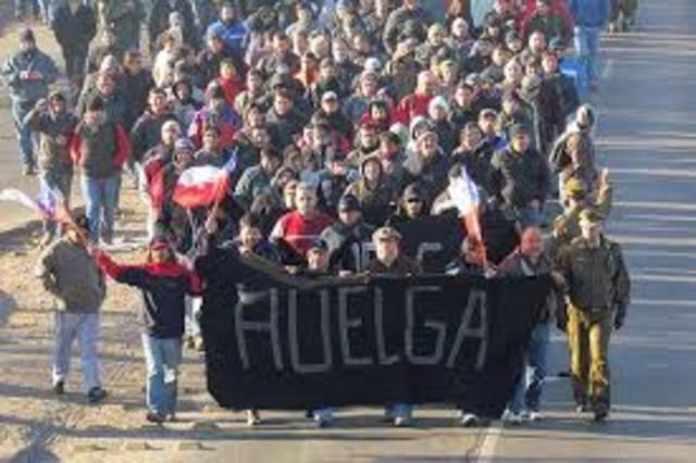 Huelgas mineras en Chihuahua